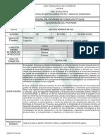 Programa de Formación Titulada_Gestión Administrativa