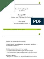 Stuttgart 21 Schlichtung - [2] 2010-10-29 - Boris Palmer Leistungsfähigkeit