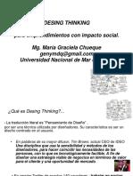 Desing Thinking Impactos Sociales