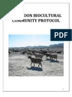 Pashtoon Bio Cultural Protocol