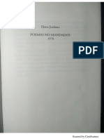 Lectura Jordana Elena - Poemas No Mandados