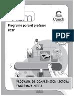 Programa Para El Profesor PCLEM