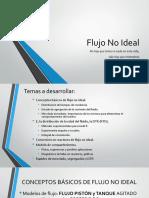 FLUJO NO IDEAL