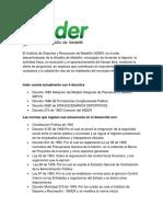 El Instituto de Deportes y Recreación de Medellín INDER.docx