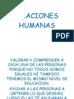 Relaciones Humanas Clase 1