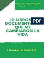10 Libros y Documentales 2019