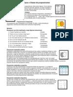 Tipos o Clases de proposiciones   +   Propociciones .docx.docx