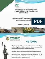 Plan estratégico de Marketing para incrementar los Indices de Turismo en el Cantón Mejía