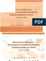 04 Manual Para La Reparación y Mantenimiento de Viviendas de Albañ. Confinada