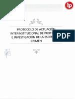 Protocolo de Protección e Investigación de La Escena Del Crimen Legis.pe .PDF