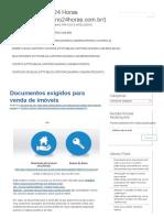 Documentos exigidos para vendas de imóveis.pdf
