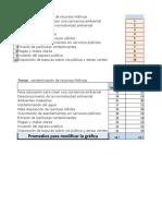 Matriz de Vester Excel..
