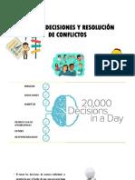 Toma de Decisiones y Resolución de Conflictos