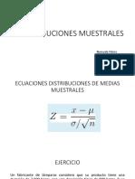 Distribuciones Muestrales de Probabilidad (2)