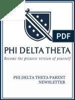spring 2019 parent newsletter