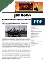 La URSS de Aleksei Balabanov, El Tarantino Ruso - Jot Down. Contemporary Culture Mag - 2016
