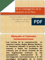 Panorama de La Investigación de La Comunicación en El Perú 2012 - I