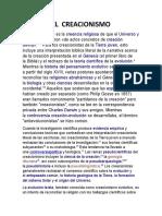 EL  CREACIONISMO biologia.docx