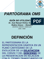 Partograma Oms Guia de Utilizacion