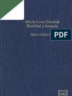 Gloria Galvez Lira - Maria Luisa Bombal, Realidad Y Fantasia (Scripta Humanistica, Volume 24) (1986).pdf