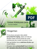 Teknik Penyajian Data (Grafik)