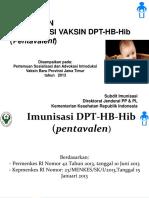 Introduksi DPT HB Hib