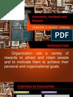 Evaluation, Feedback and Reward - CHARLENE O DUQUE.pptx