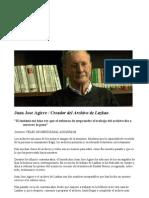 Agirre Juan Jose-Bibliotecario Lazkao Euskonews 101029