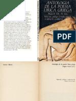 GARCÍA GUAL - Antología de la poesía lírica griega.pdf