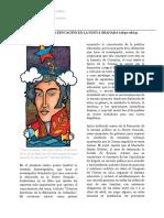 Relato Sobre La Educación en La Nueva Granada