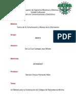 Un Método para la Construcción de Códigos de Redundancia Mínima-Terminado.docx