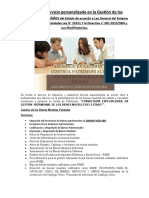 Asesoria y Servicio personalizado en la Gestión de los bienes Patrimoniales del Estado de acuerdo a Ley General del Sistema Nacional de Bienes Estatales Ley N.docx