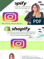 Manual Shopify Erramienta Para Dominar Las Ventas Directas en Instagram Por Santyeri Rincon