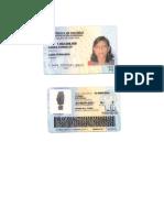 Tarjeta Identidad