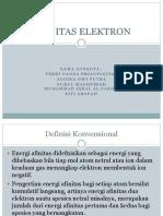 AFINITAS ELEKTRON