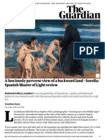 A Lusciously Perverse View of a Backward Land - Sorolla_ Spanish Master of Light Review _ Art and Design _ the Guardian