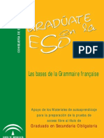Bases Grammaire Francaise