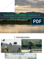 Potential of Wildlife Tourism at Inle Lake, Myanmar