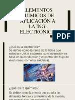 Elementos Quimicos Para La Ing Electronica