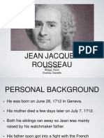 Jean Jacques Rosseau Report