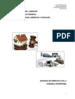 Apuntes de Clase Derecho Civil II 2018