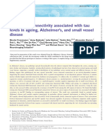 2019 - Functional Connectivity Associated With Tau Levels in Ageing, Alzheimer's, And Small Vessel Disease