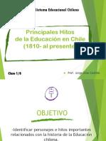 Clase 1 Historia de La Educación en Chile 1810 Al 2019 Parte 1
