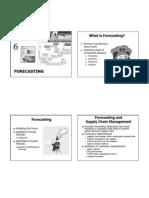 DFMD 3513 Chapter-6 Forecasting