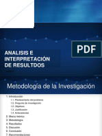 Analisis e Interpretación de Resultdos Fenob