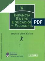Kohan.Infacia, entre educacion y filosofia001.pdf