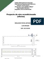 Proyecto de Aire Calculo de Cargas Termicas