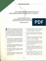 La Funcional Interrelación Epistemológica e Ideológica entre Filosofía, Ética y Política - Pablo Guadarrama Gonzáles