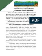 La Agricultura Ecológica y Sus Factores.