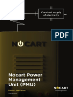 Nocart PMU datasheet 2